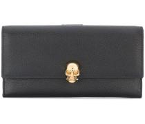 Continental skull wallet