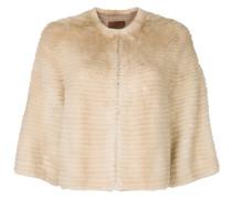 Cropped-Jacke aus Nerz