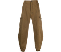 slouchy fit trousers