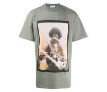 T-Shirt mit Jimmy Hendrix-Print