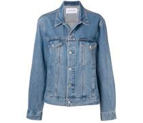patch pocket jean jacket