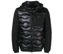 zipped down padded jacket