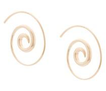 Ohrringe mit Spiralform
