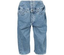 'Pop-up' Jeans-Shorts