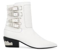 Western-Boots mit Schnalle