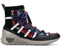 Gemusterte Sock-Sneakers