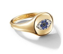 18kt 'Cable Collectibles' Gelbgoldring