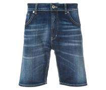 Shorts mit ungesäumten Kanten