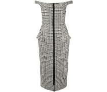 'Amara' Tweed-Kleid