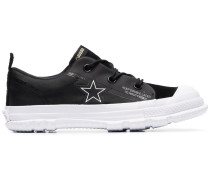 black One Star MC18 sneakers