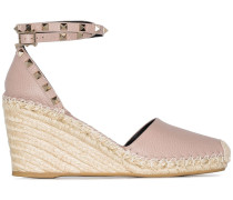 Garavani 'Rockstud' Wedge-Sandalen, 85mm