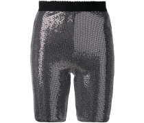 Bastille metallic shorts