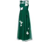 Kleid mit Blütenapplikation