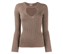 P.A.R.O.S.H. Pullover mit Cut-Outs
