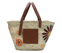 Große 'Basket Flowers' Handtasche