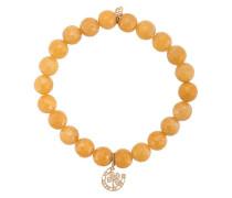 14kt Gelbgoldarmband mit Diamanten