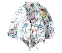 Kimono mit Blumen-Print
