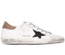 'Superstar' Sneakers im Used-Look