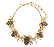 Halskette mit botanischem Design