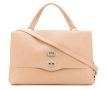 Handtasche mit gewellter Prägung