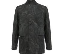 Military-Jacke mit Knopfleiste
