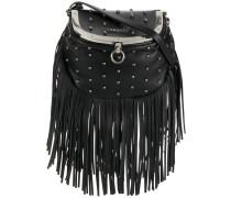 studded fringe crossbody bag