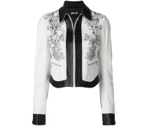 monochrome bead detail jacket