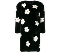 floral midi coat