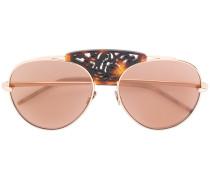 Sonnenbrille mit Verzierungen