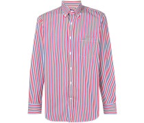 striped logo shirt