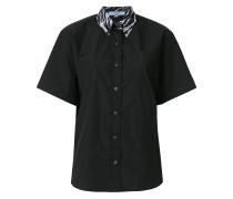 zebra collar shirt