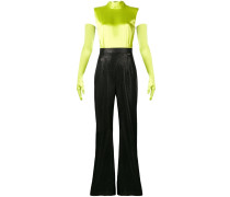 Jumpsuit in Colour-Block-Optik