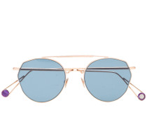 rose gold Place Carree metal sunglasses