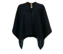 check lined shawl