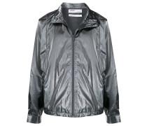 Jacke in Metallic-Optik
