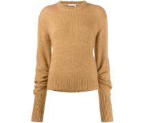 Pullover mit überlangen Ärmeln