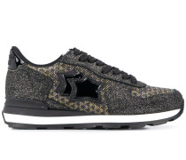 'Vega' Sneakers mit Glitter-Einsätzen