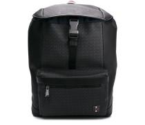 logo buckle backpack
