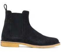Chelsea-Boots aus Kalbswildleder