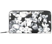 Portemonnaie mit Blumenmuster