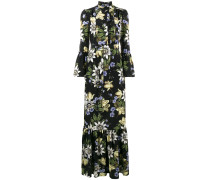 Stephanie floral print ruffle dress