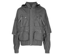 multi-pocket lightweight jacket