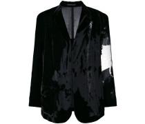 oversized velvet jacket - Unavailable