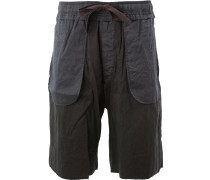 Bermuda-Shorts mit Kordelzug