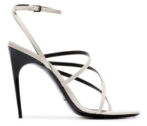 'Paris 105' Sandalen aus Lackleder