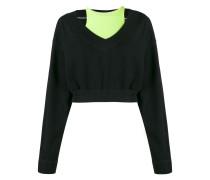 Zweilagiger Pullover
