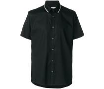 zip trim shirt