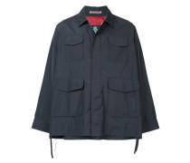 Cropped-Jacke mit weitem Arm
