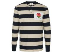 Poloshirt mit Rosen-Patch