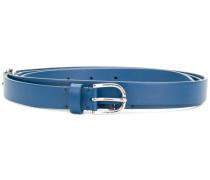 silver-toned hardware belt